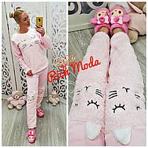 Невероятно теплый, мягкий, нежный к телу домашний костюм, пижама, Размеры от 44 до 52, фото 3