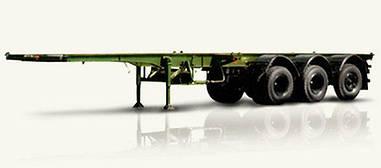 Новый полуприцеп контейнеровоз МАЗ 991900