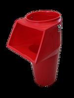 Мусоросброс - приемный этажный рукав с комплектующими (цепи, карабины)