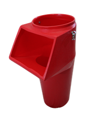 Мусоросброс - приймальний поверховий рукав з комплектуючими (ланцюги, карабіни)