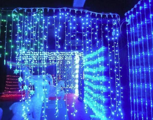 Гирлянда LED 560 лампочек