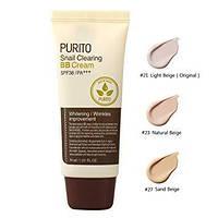 PURITO Snail Clearing BB Cream ВВ Крем с экстрактом улитки