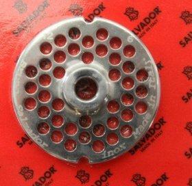 Решітка 6 мм з центр. втулкою для м'ясорубки мод.12 (D70/d10мм) система Enterprise