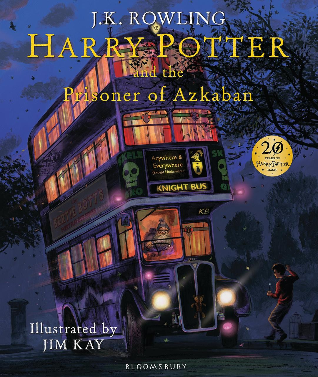 Книга Harry Potter and the Prisoner of Azkaban (Illustrated Edition)