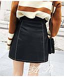 Женская юбка-косуха из эко-кожи, фото 5