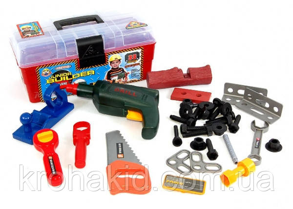 Игровой набор инструментов 2059 / чемодан с инструментами (33 предмета)