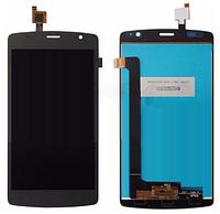 Дисплей (экран) для ZTE Blade L5 + тачскрин, серый