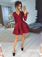 Платье с кружевным верхом, фото 1