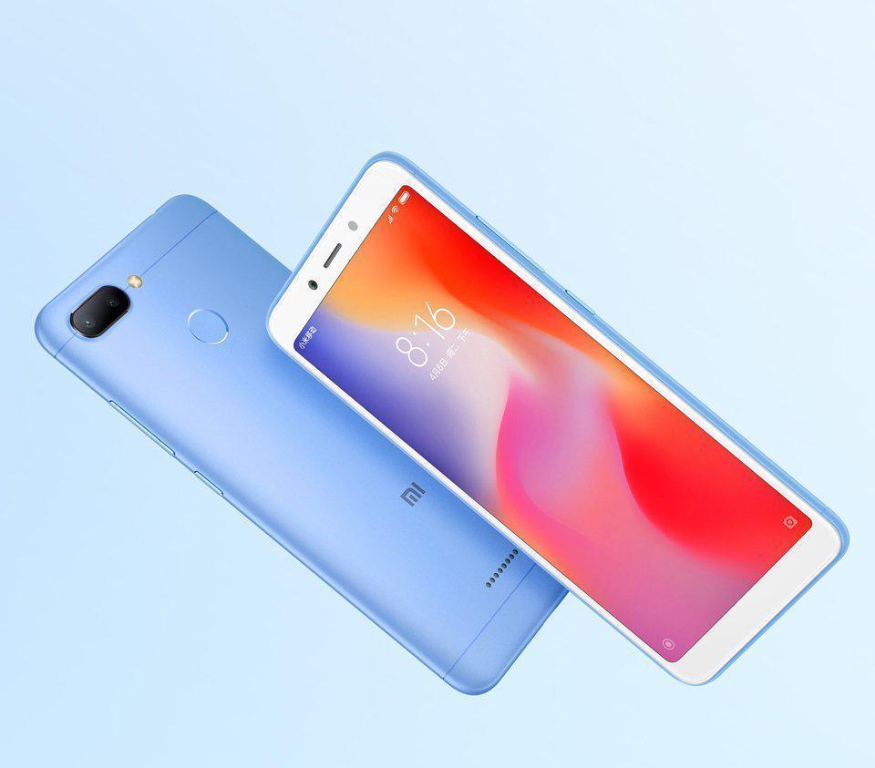 be5760a0dec6e Смартфон Xiaomi RedMi 6a 2/32gb Blue MediaTek Helio A22 3000 мАч - In My