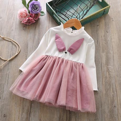 Платье нарядное детское на девочку длинный рукав 4 года