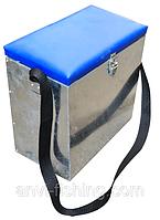 A N G Ящик зимний оцинкованный маленький  ,Подарок рыбаку, Морозоустойчивый , фото 1