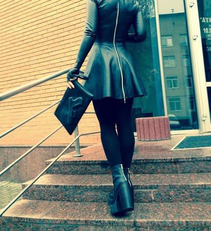 Платье Экокожа, фото 2