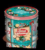 Панеттон Panettone Balocco с изюмом и цукатами в металлической коробке, 750 гр.