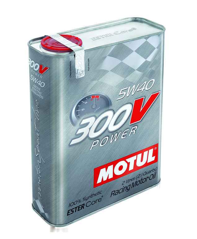 Motul 300V Power 5W-40 2л.