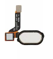 Шлейф для OnePlus 3 A3003/3T A3010, с кнопкой меню (Home), белого цвета , фото 1