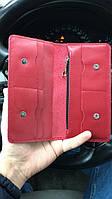 Кожаный портмоне с монетницей, фото 2