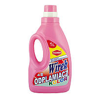 Wirek пятновыводитель для цветного белья 1 л.