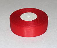 Репсова стрічка червона 2,5 см 993, фото 1