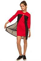 Платье Шерри, красный