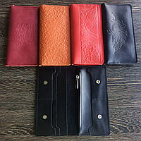 Кожаный портмоне с монетницей, фото 4