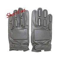 Перчатки тактические кожаные Black, MIL-TEC  12501002