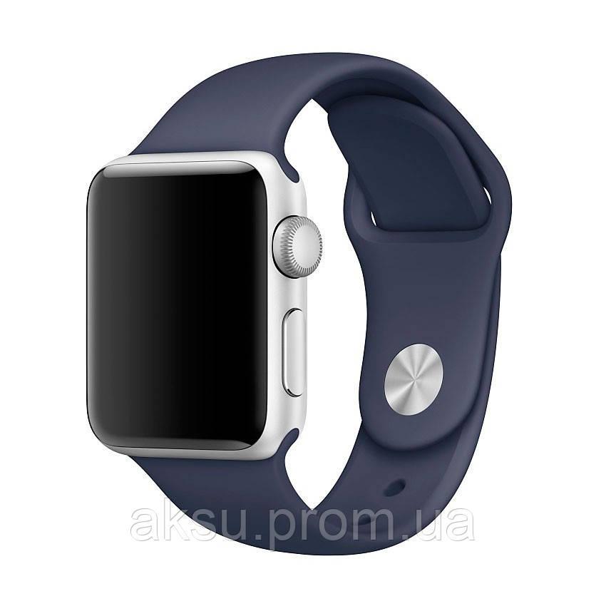 Ремешок для Apple Watch Sport Band 38 mm/40 mm (Midnight Blue)