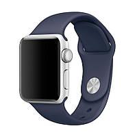 Ремешок для Apple Watch Sport Band 38 mm/40 mm (Midnight Blue), фото 1