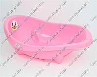 Ванночка детская розовая 80 см