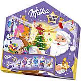 Адвент Календарь Milka Magic Mix, 204 грамм , фото 2