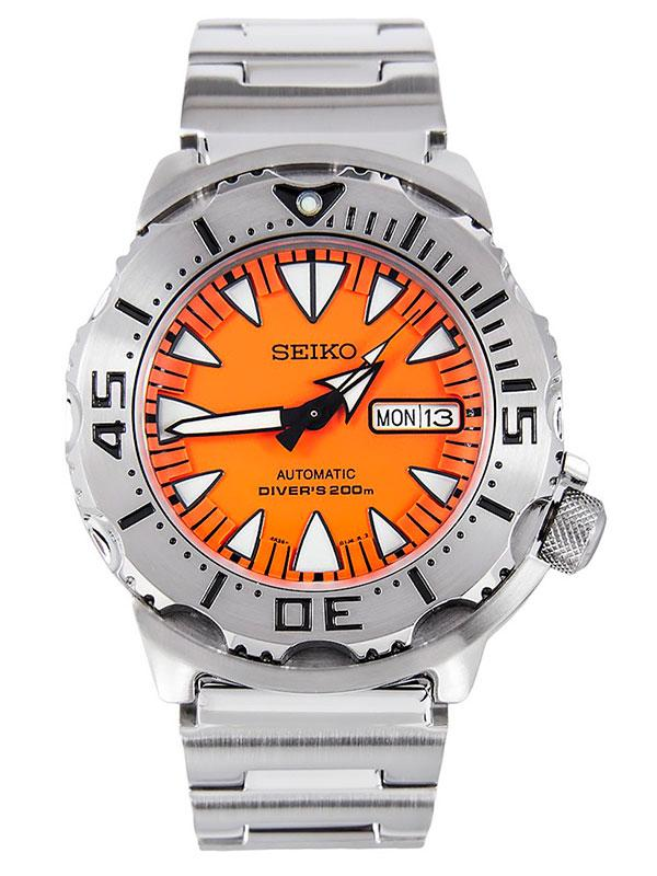 Часы Seiko SRP309K1 Orange Monster Automatic Diver's 4R36