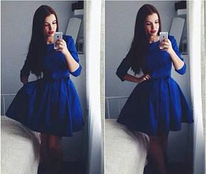 Платье коттон-мемори 3-х цветов, фото 2