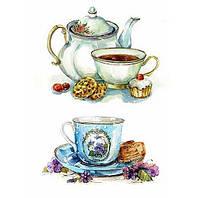 Бумага для декупажа 21х30 см Время пить чай