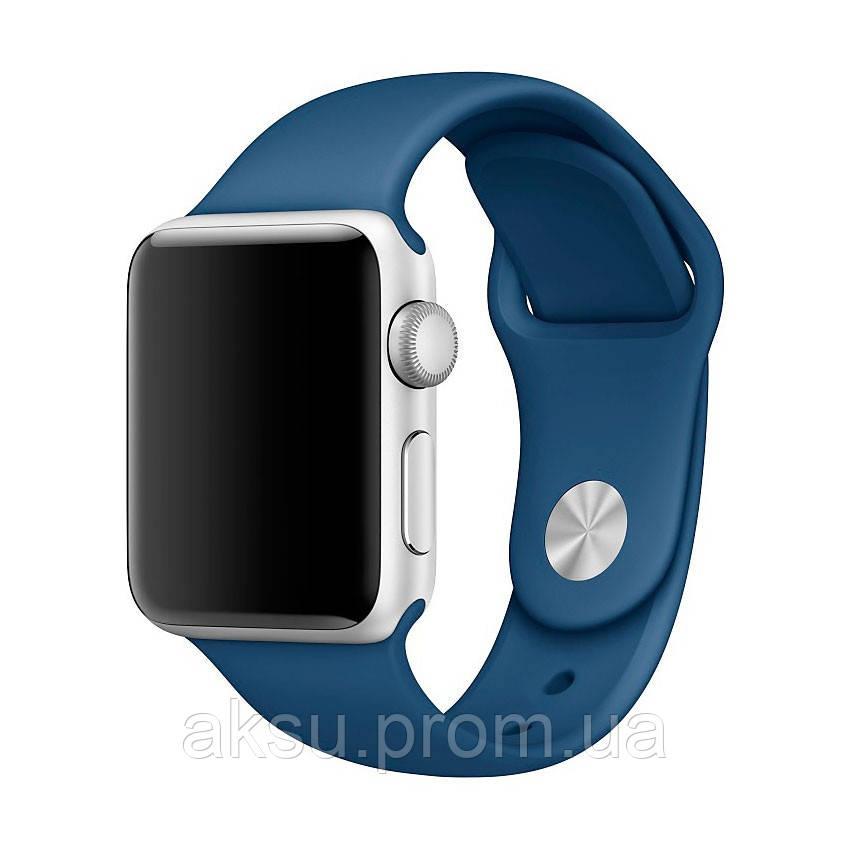 Ремешок для Apple Watch Sport Band 38 mm/40 mm (Ocean blue)
