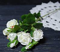 Ветка роз белого цвета премиум, фото 1