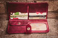 Кожаный портмоне, фото 3