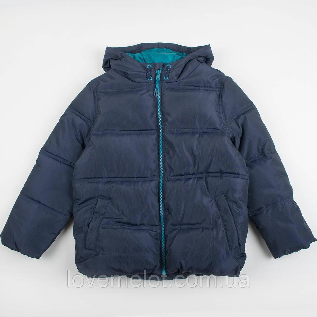 """Детская теплая куртка F&F """"Джастин"""", размер 6-7 лет куртка с капюшоном"""