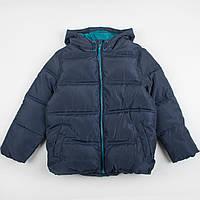 """Детская теплая куртка F&F """"Джастин"""", размер 6-7 лет куртка с капюшоном, фото 1"""