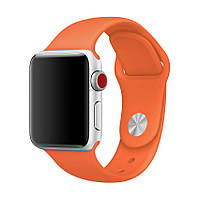 Ремешок для Apple Watch Sport Band 38 mm/40 mm (Orange), фото 1