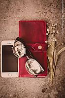 Кожаный портмоне, фото 4