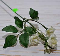 Ветка мини- роз белого цвета , фото 1