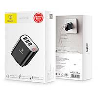 Сетевое зарядное устройство Baseus Multi USB 3.4A Black, фото 6