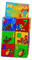 Детские кубики поролоновые цифры