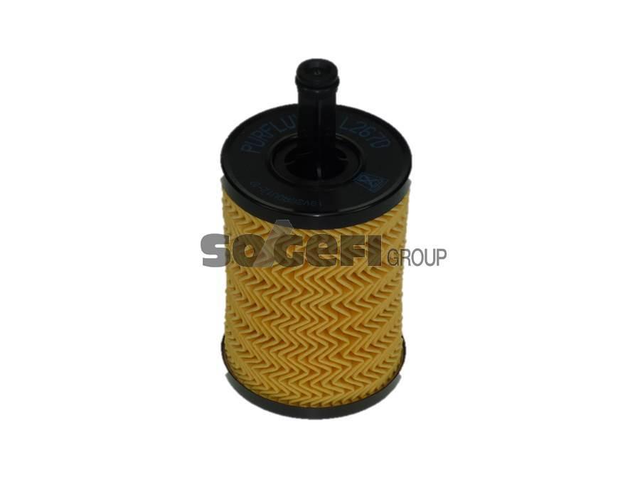 Фильтр масляный Purflux L267D (OE 650/1)