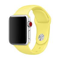 Ремешок для Apple Watch Sport Band 38 mm/40 mm (Lemonade)