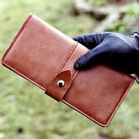 Кожаный портмоне-тревел, фото 3
