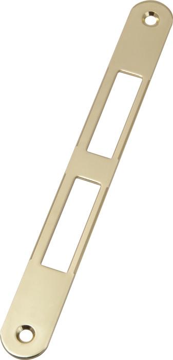 Ответная планка к замкам AGB под четверть латунь B01000.01.03