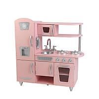 Детская кухня Винтажная розовая Кидкрафт (Vintage Pink, Kidkraft)