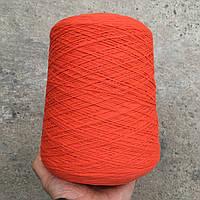 Пряжа Sultan, оранжевый яркий (50% меринос, 50% ПА; 300 м/100 г)