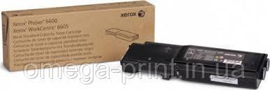 Тонер-картридж XEROX PHASER 6600, (106R02252), черный