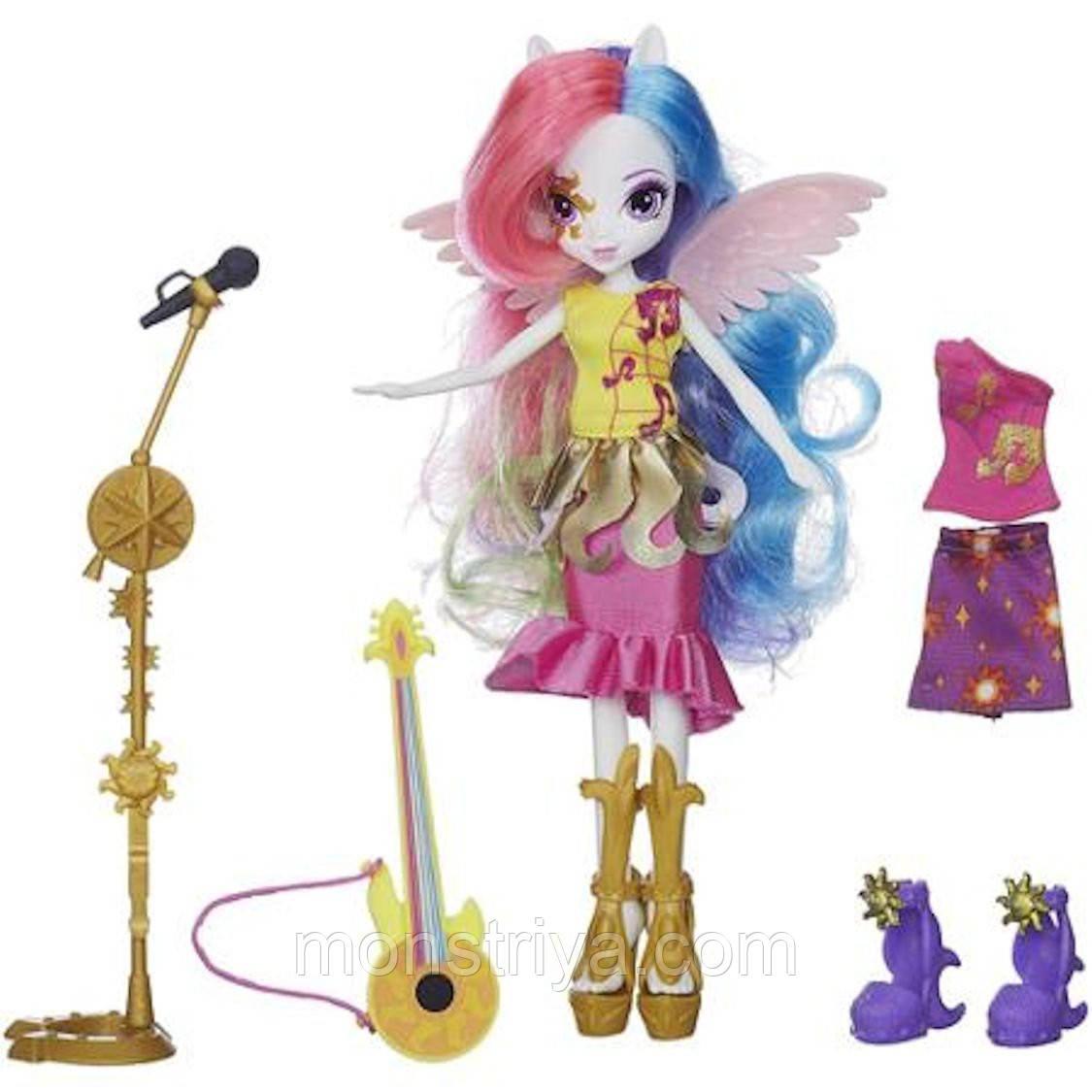 "Ексклюзивна серія My Little Pony Equestria Girls ""Through The Mirror"" (""Задзеркаллі"") Лялька Принцеса Селестія"
